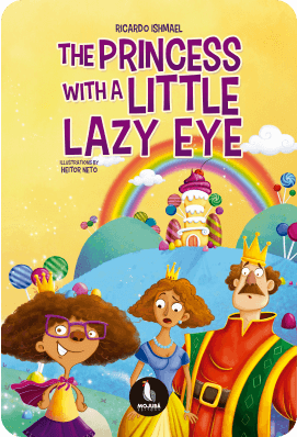 Book edition - The Princess With A Little Lazy Eye